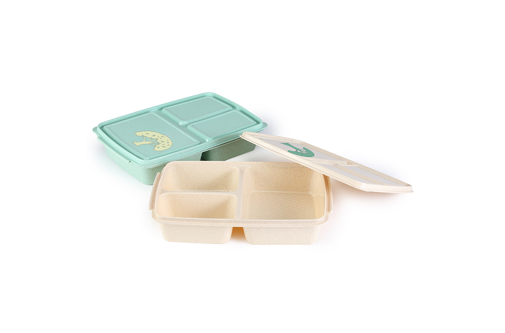 Reusable Wheat Lunch Boxes