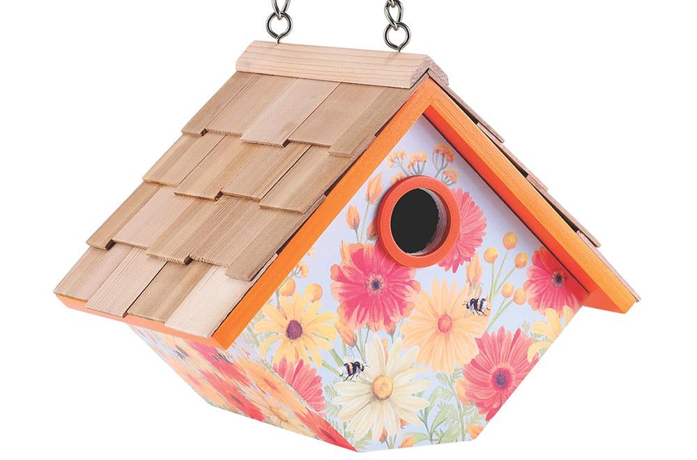 Floral Wren Nesting Box