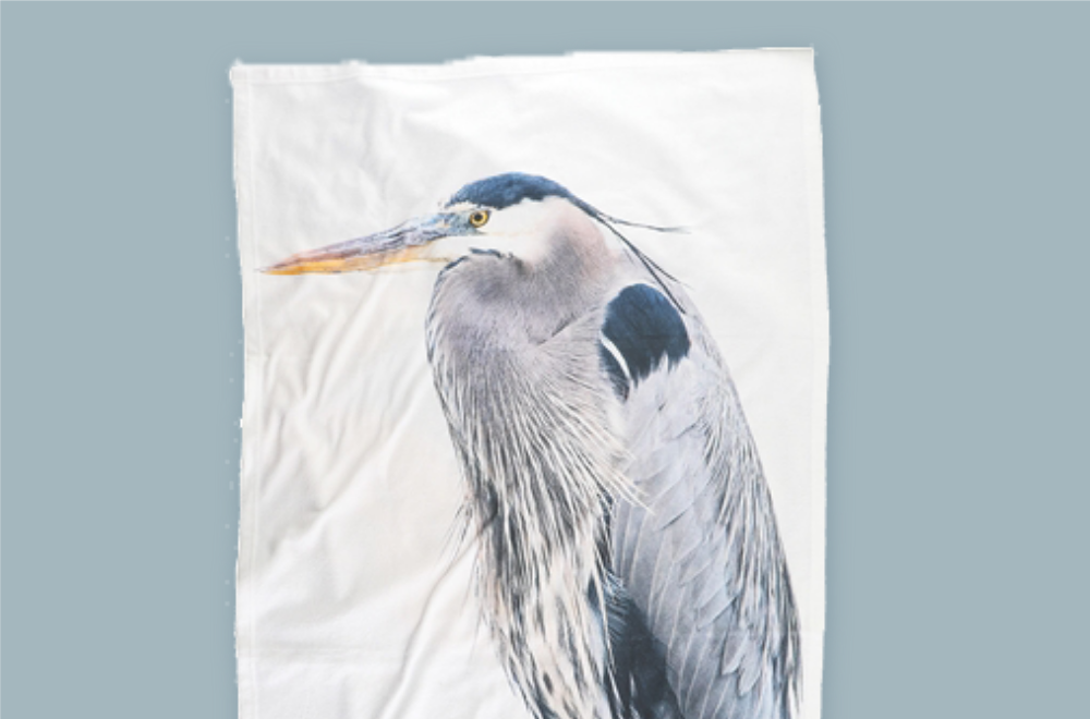 Blue Heron Beach Towels