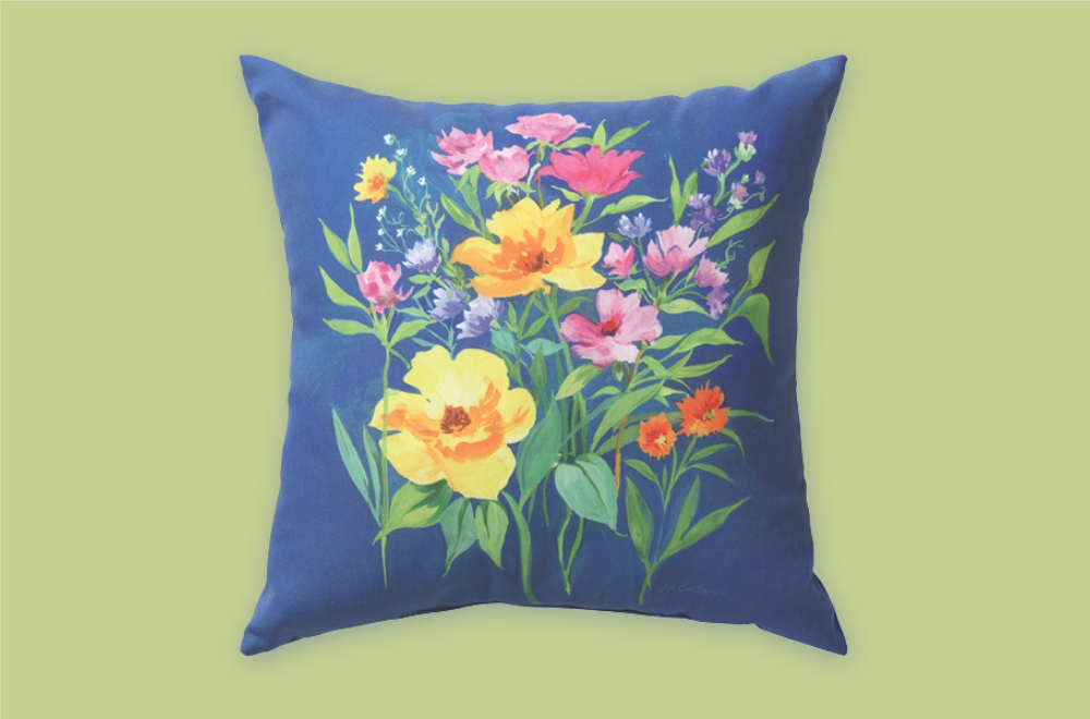 Floral Magic Pillow