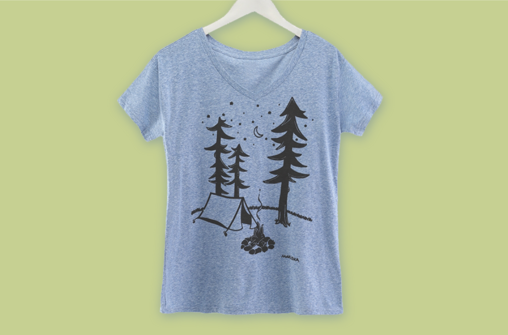 Camping in the Woods Tee