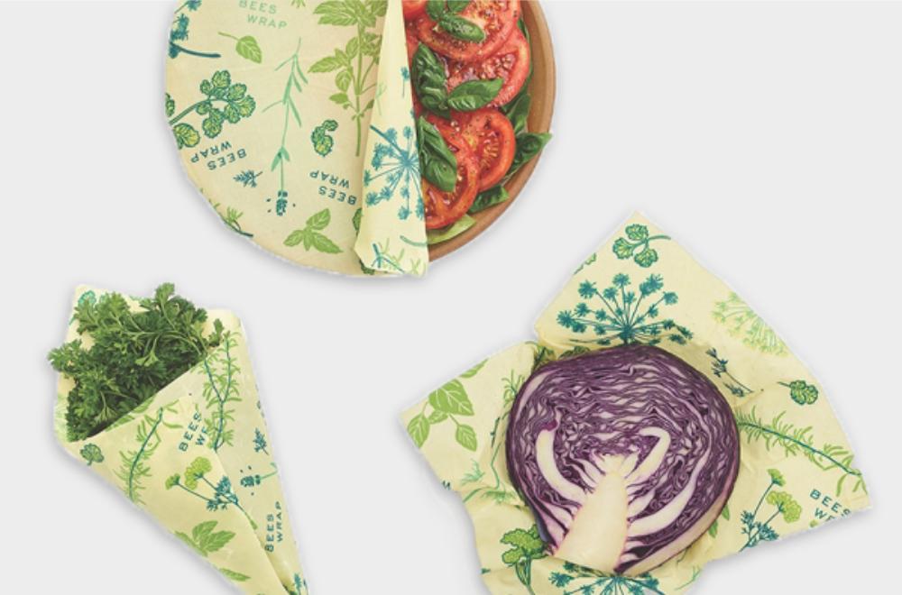 Vegan Herb Garden Reusable Food Wrap