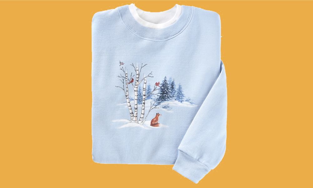 Winter in the Woods Pullover