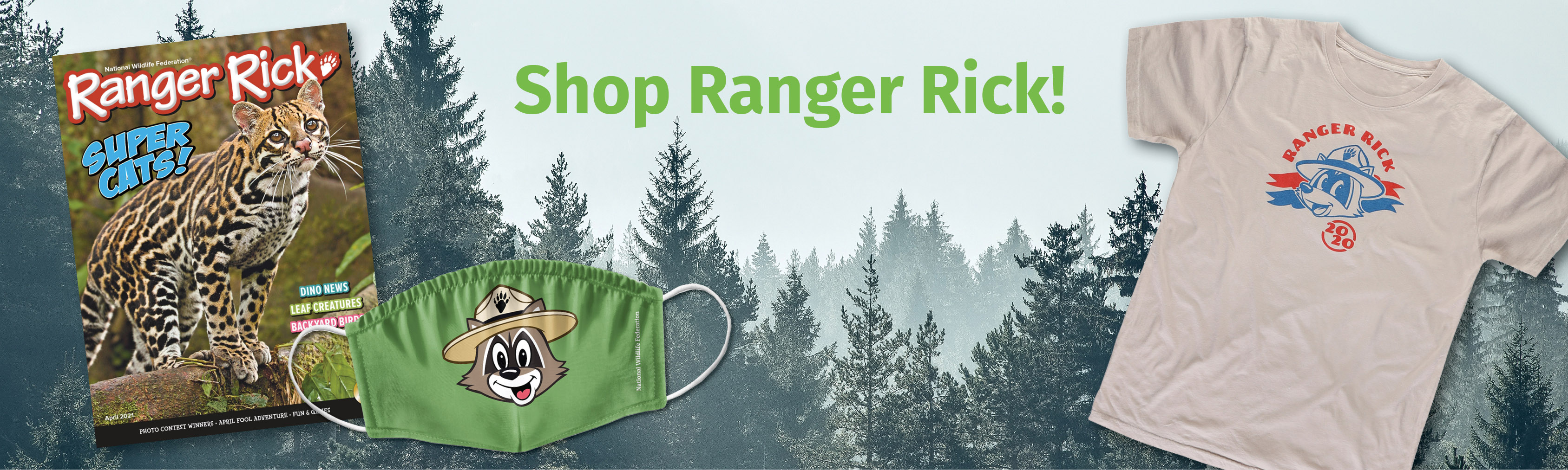 Ranger Rick header image