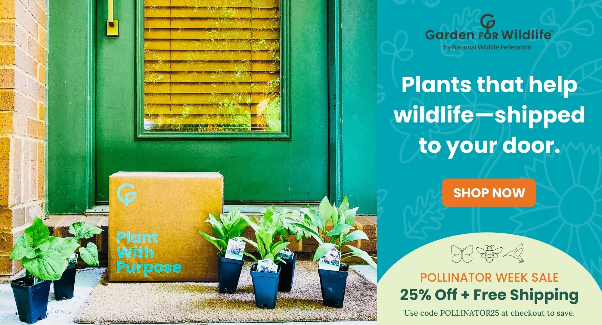 Garden for Wildlife header image
