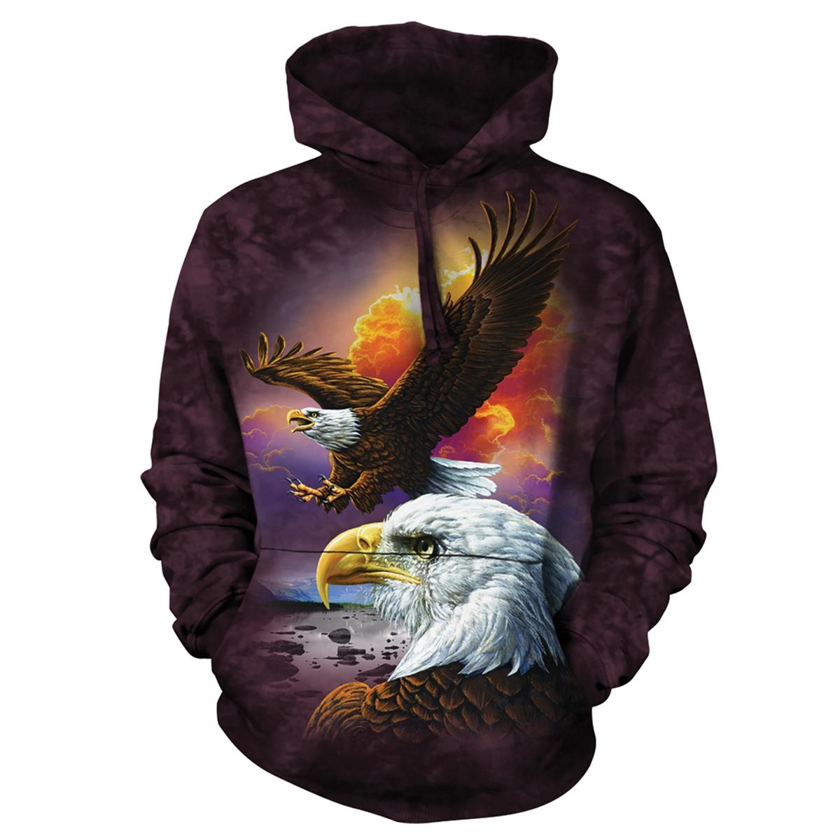 Soaring Eagle Hooded Pullover