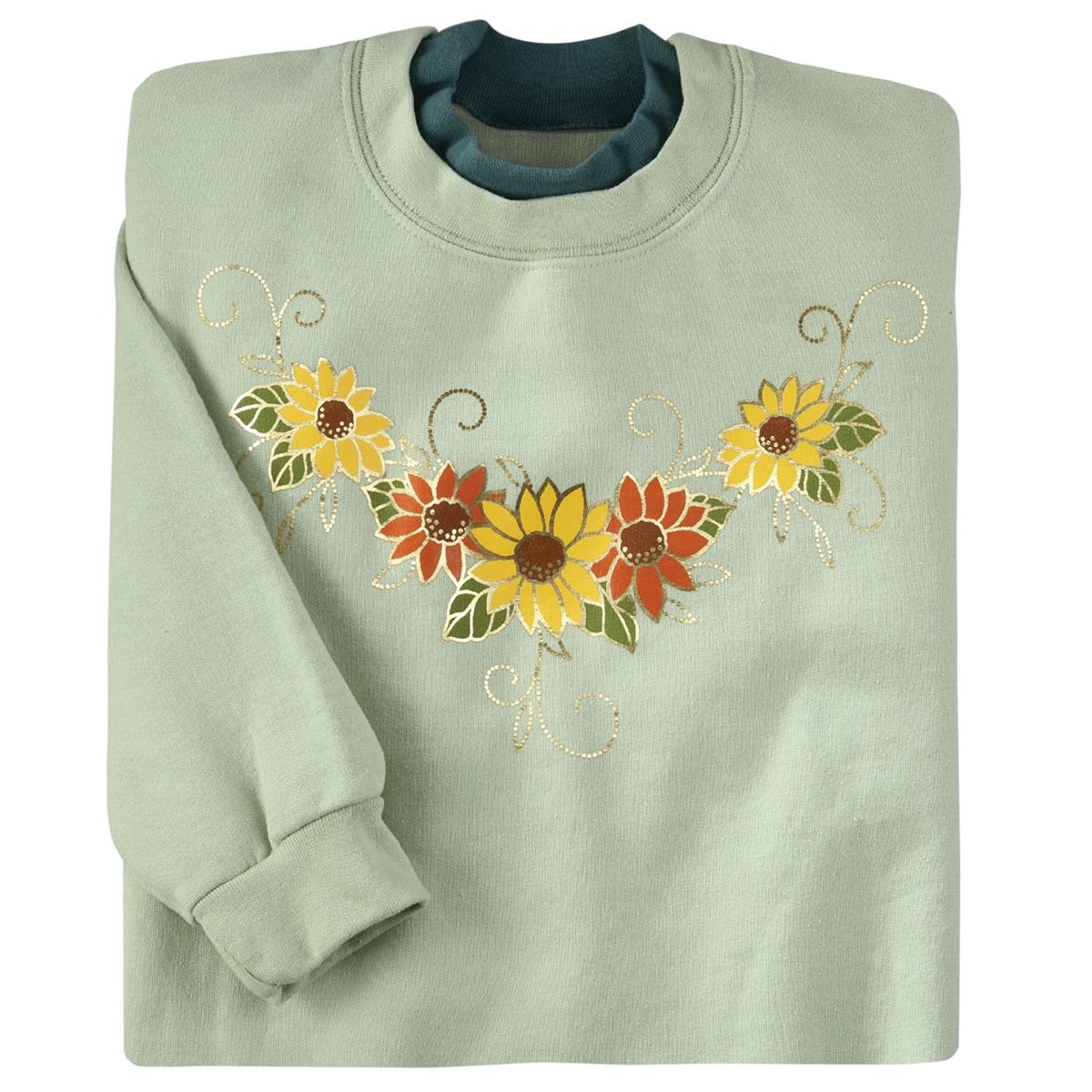 Sunflower Shimmer Pullover