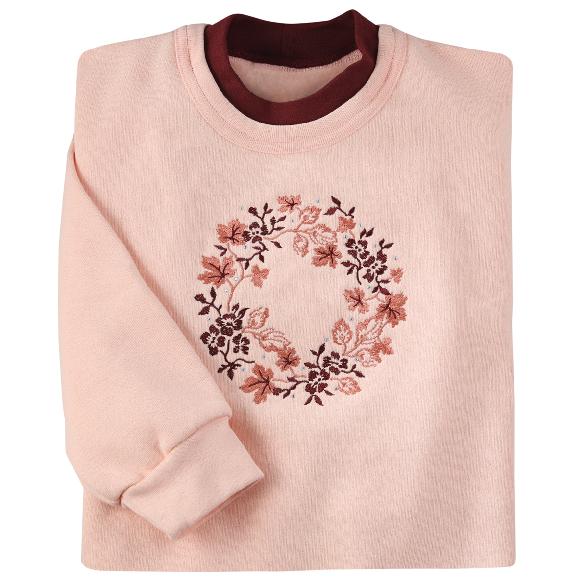 Leaves Wreath Pullover