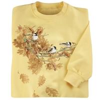 Oak Leaf Chickadees Pullover