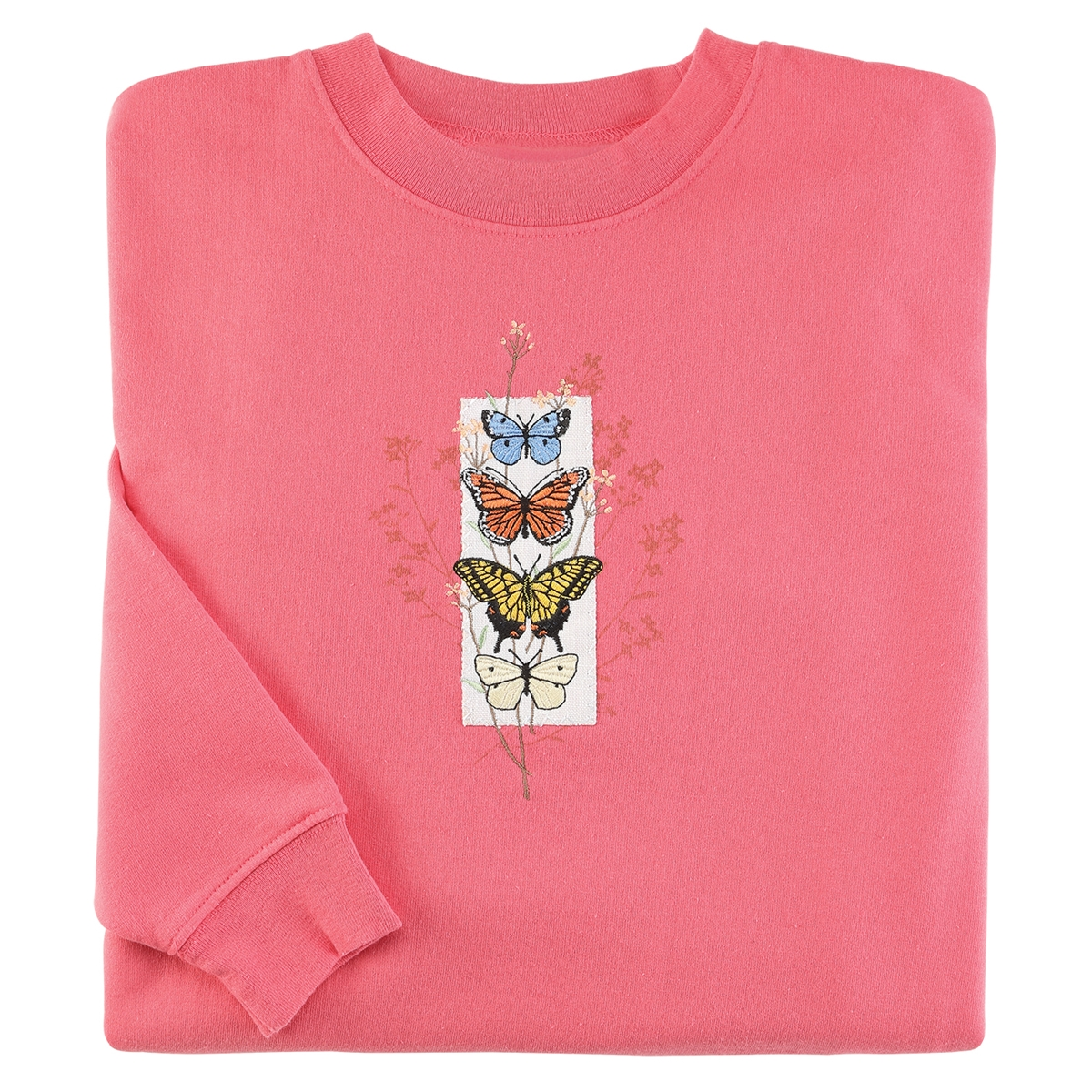 Spring Butterflies Pullover