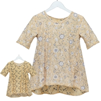 Birds & Flowers Reversible Tunic