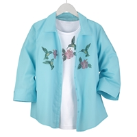 Hummingbird Shirt Set