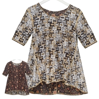 Owls & Flowers Reversible Tunic
