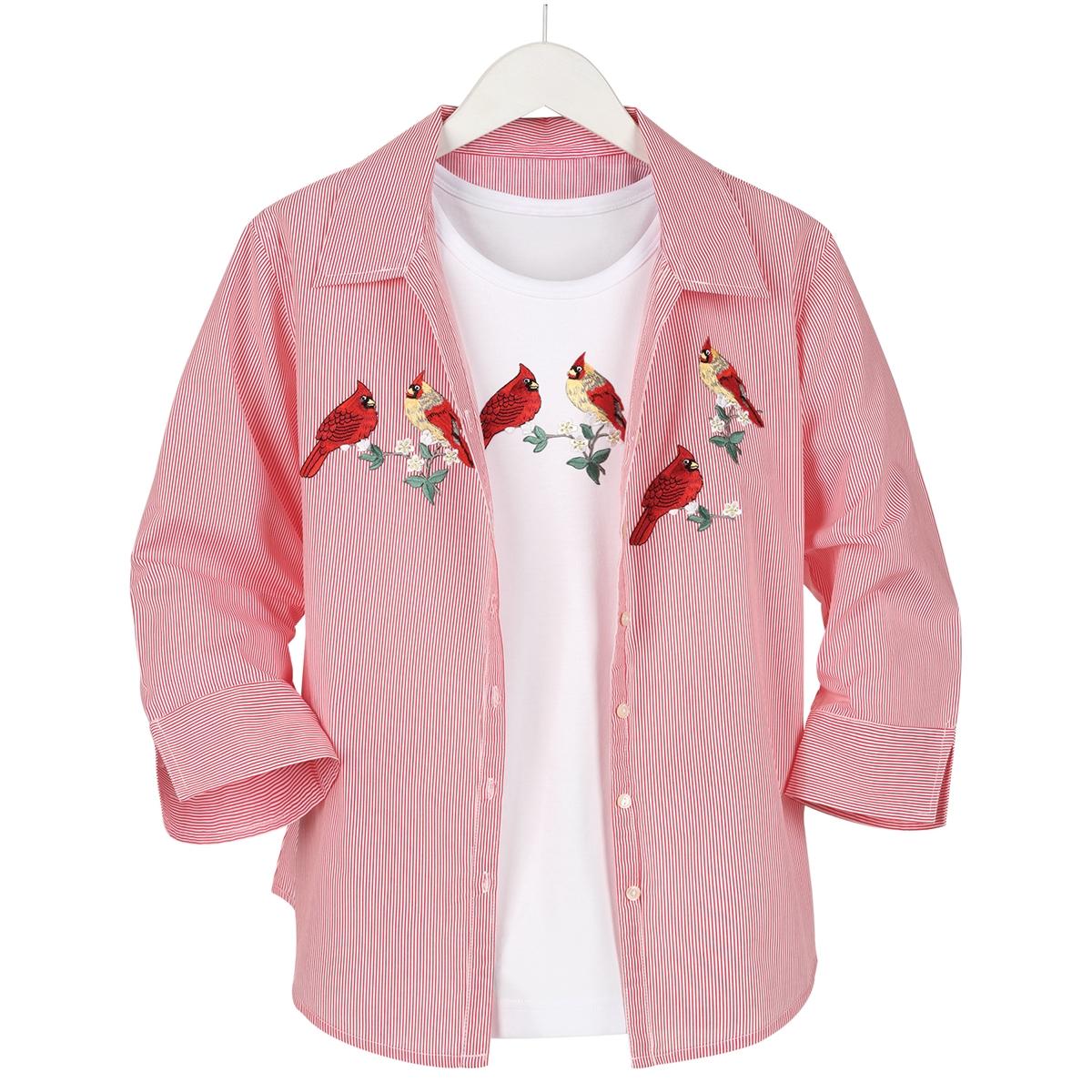 Cardinals Shirt & Tee Set