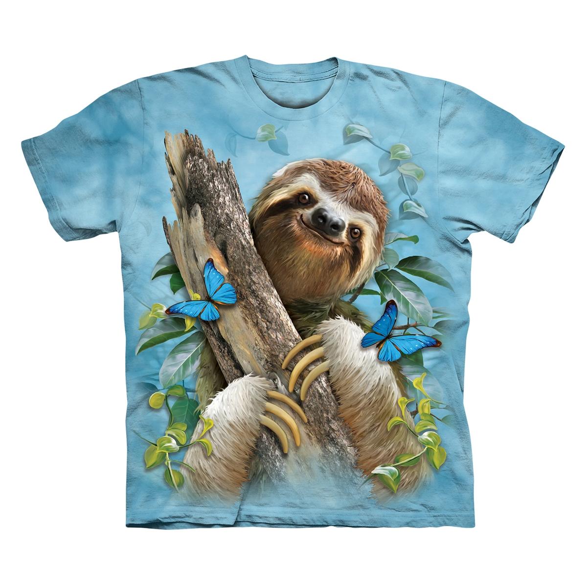 Sloth & Butterflies Tee