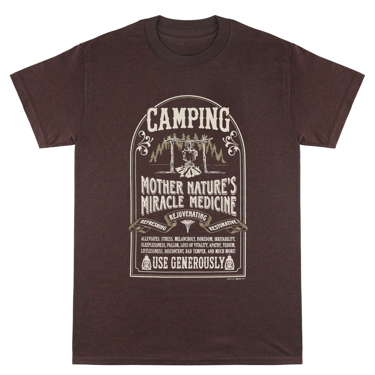 Camping Cure Tee