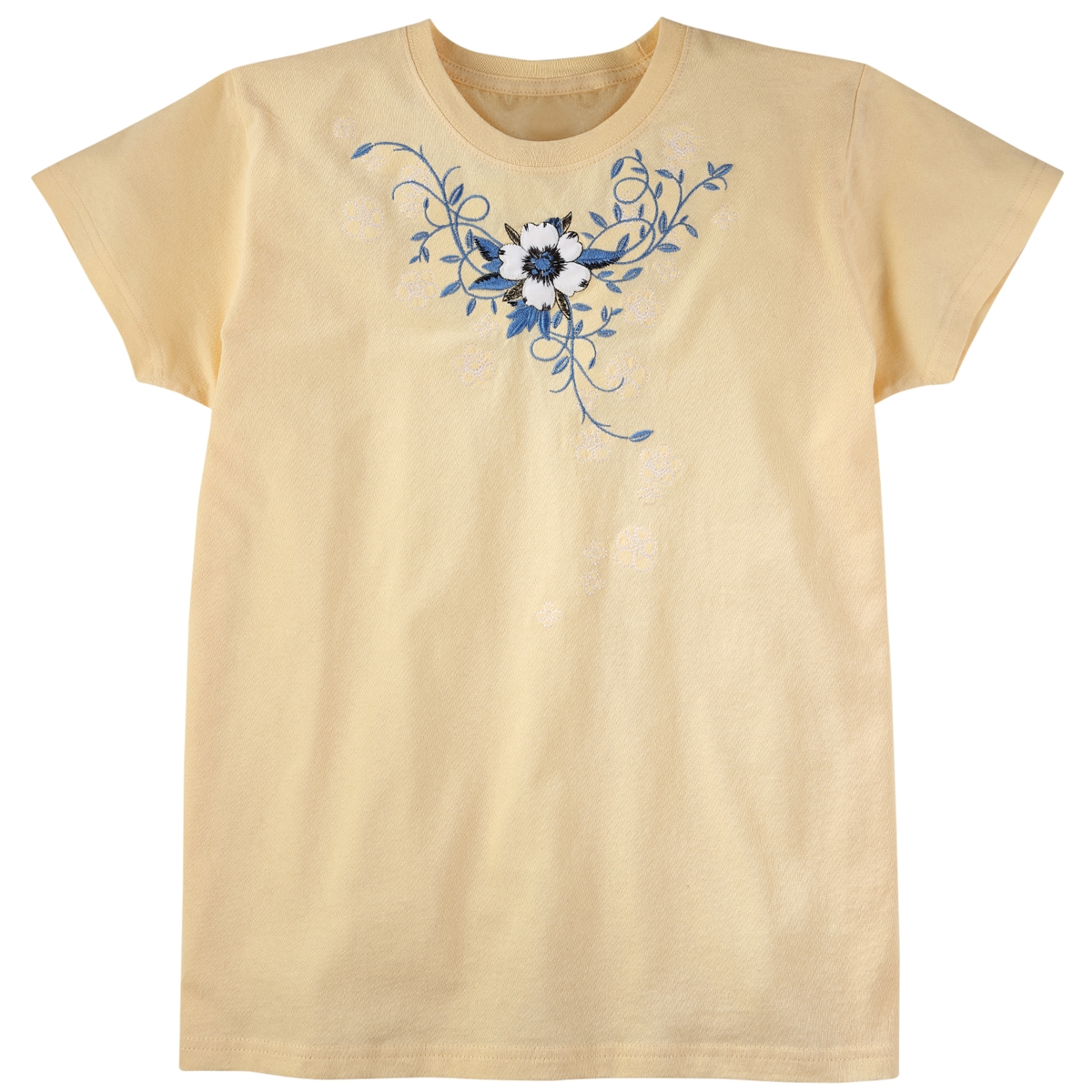 Stitched Falling Flower Tee