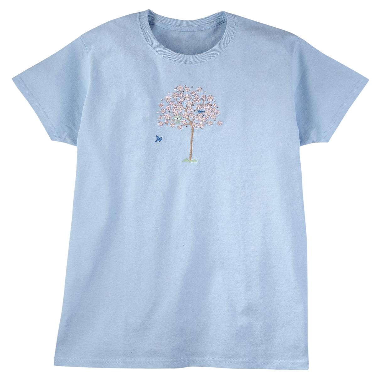 Spring Bluebird Tree Tee