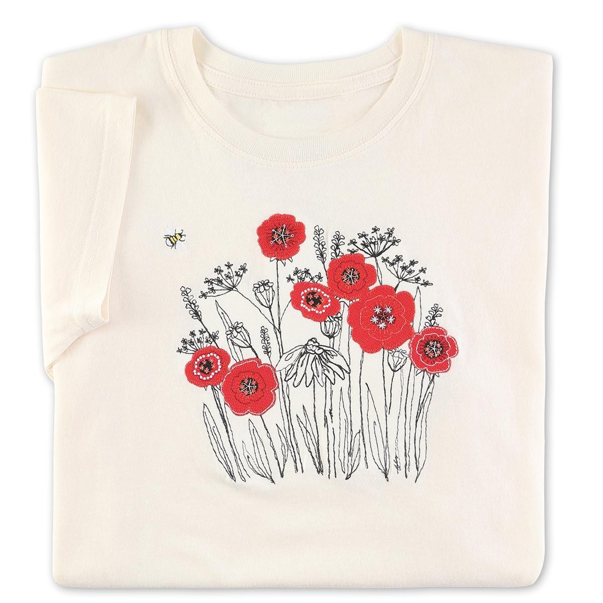 Poppy Garden Tee
