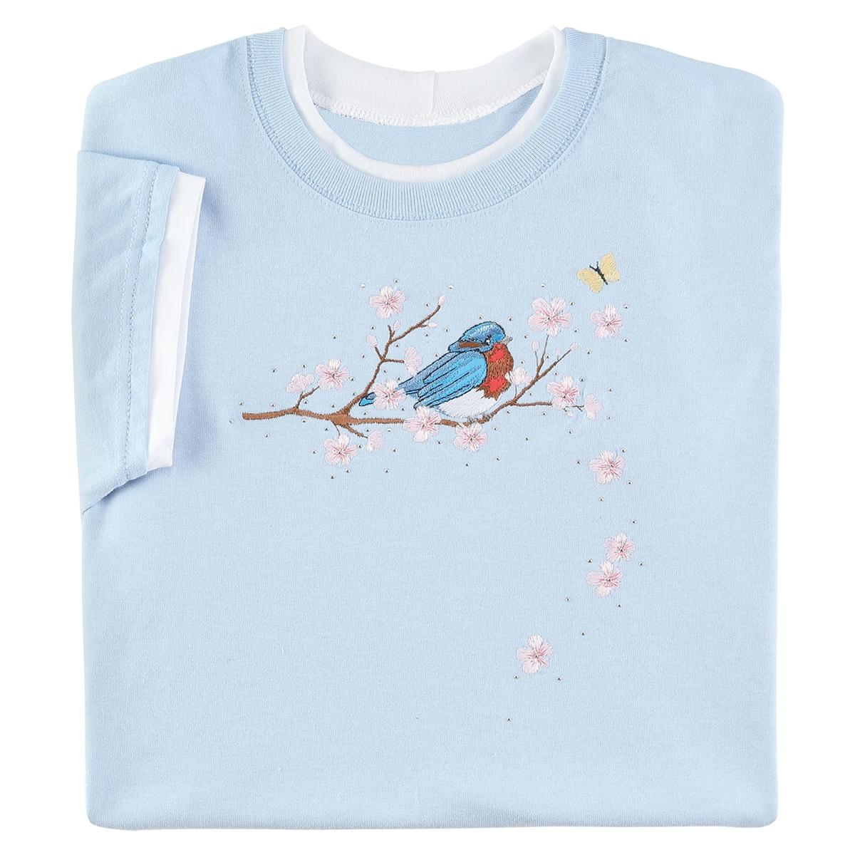 Bluebird & Blossoms Tee