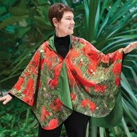 Poppies Rain Cape