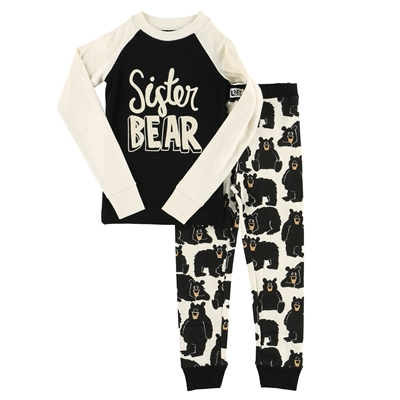 Sister Bear Pajama Set