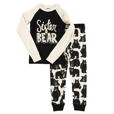 Sister Bear Pajama Set