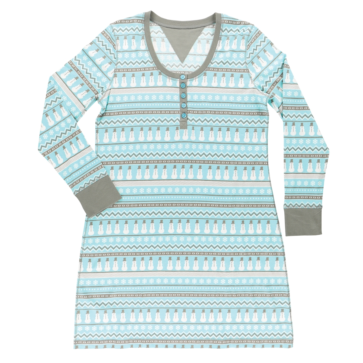 Nordic Snowman Nightshirt