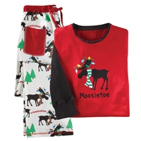Unisex Moosletoe PJ Set
