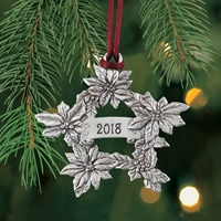 2018 Poinsettia Plant a Tree Ornament