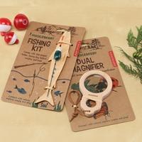 Fishing Kit & Magnifier Set