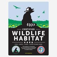 Arkansas Wildlife Federation Certified Wildlife Habitat Sign