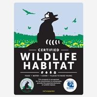 Colorado Wildlife Federation Certified Wildlife Habitat Sign