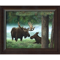Moose Personalized Art Print