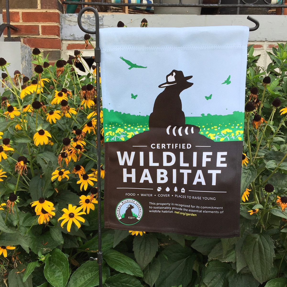 CWH Garden Flag | The National Wildlife Federation