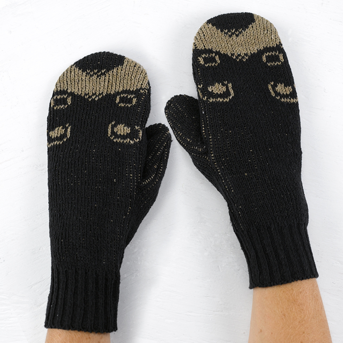 Black Bear Mittens