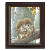 Couple of Nuts Personalized Art Print