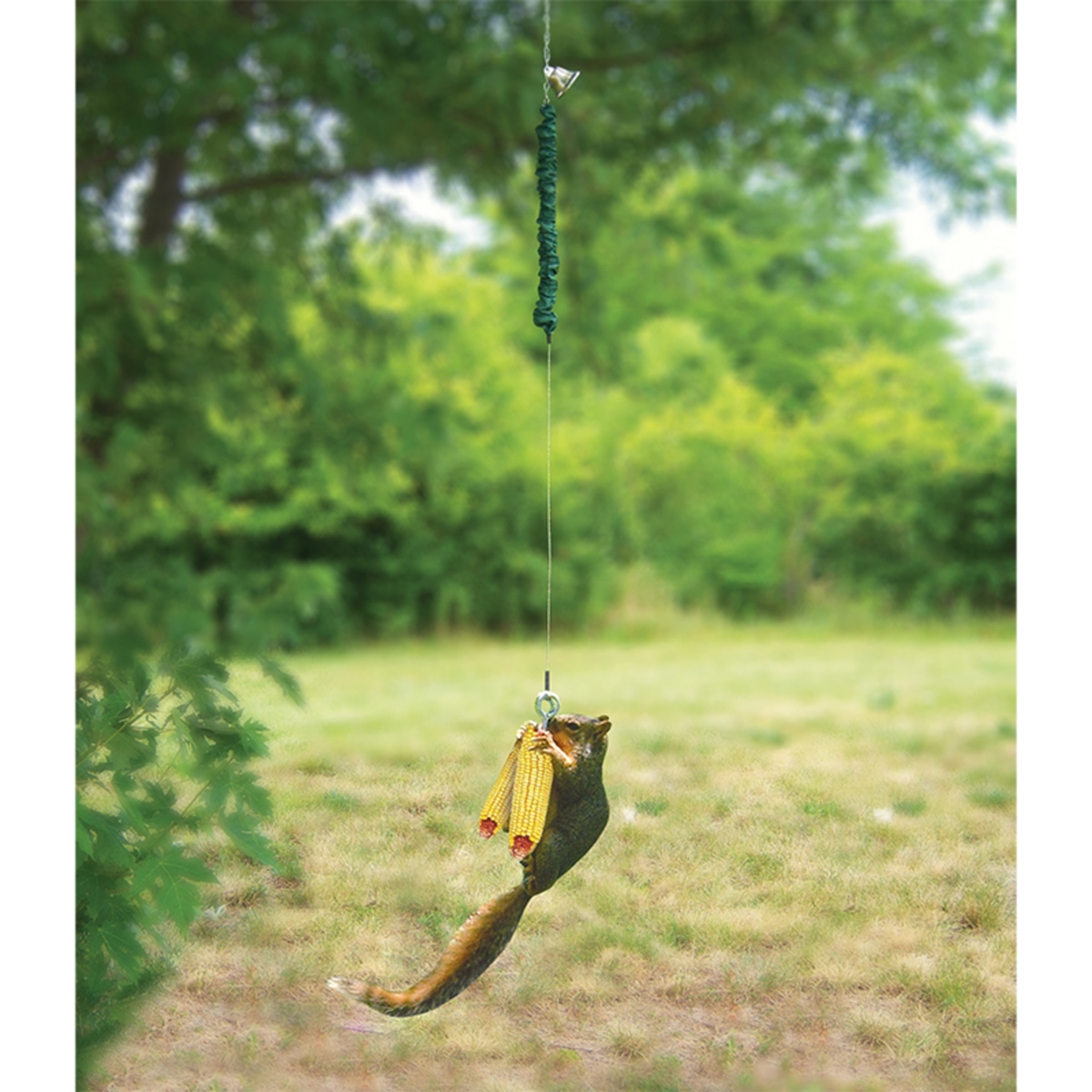 Squirrel Bungee Cord Feeder