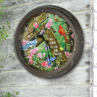Backyard Bird Clock