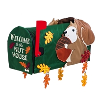 Welcome to the Nuthouse Mailbox Cover