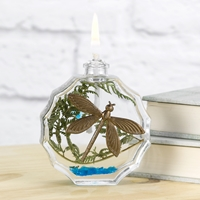 Dragonfly Oil Candle