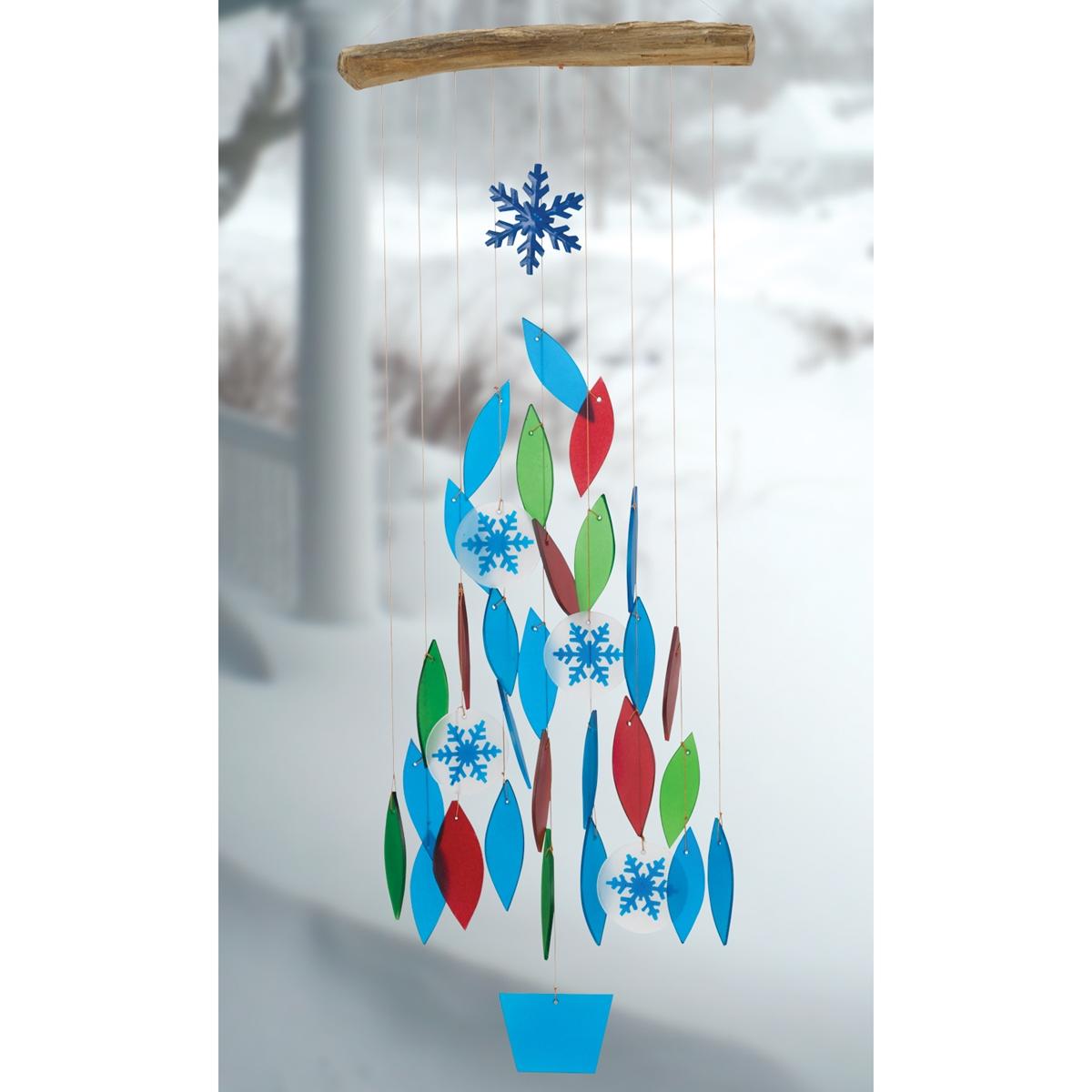 Snowflake Wind Chime
