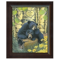 Love Bears Personalized Art Print