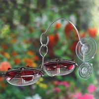 Double Hummingbird Feeder Set