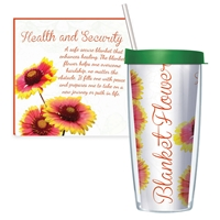 Blanket Flower Travel Tumbler
