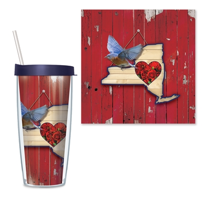 New York Travel Tumbler