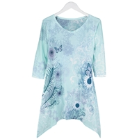 Butterfly Sublimation Fashion Tee