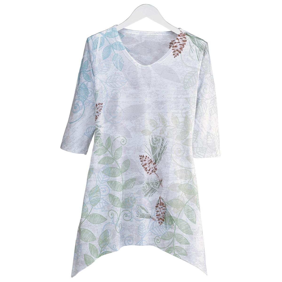 Flora Sublimated Fashion Tee