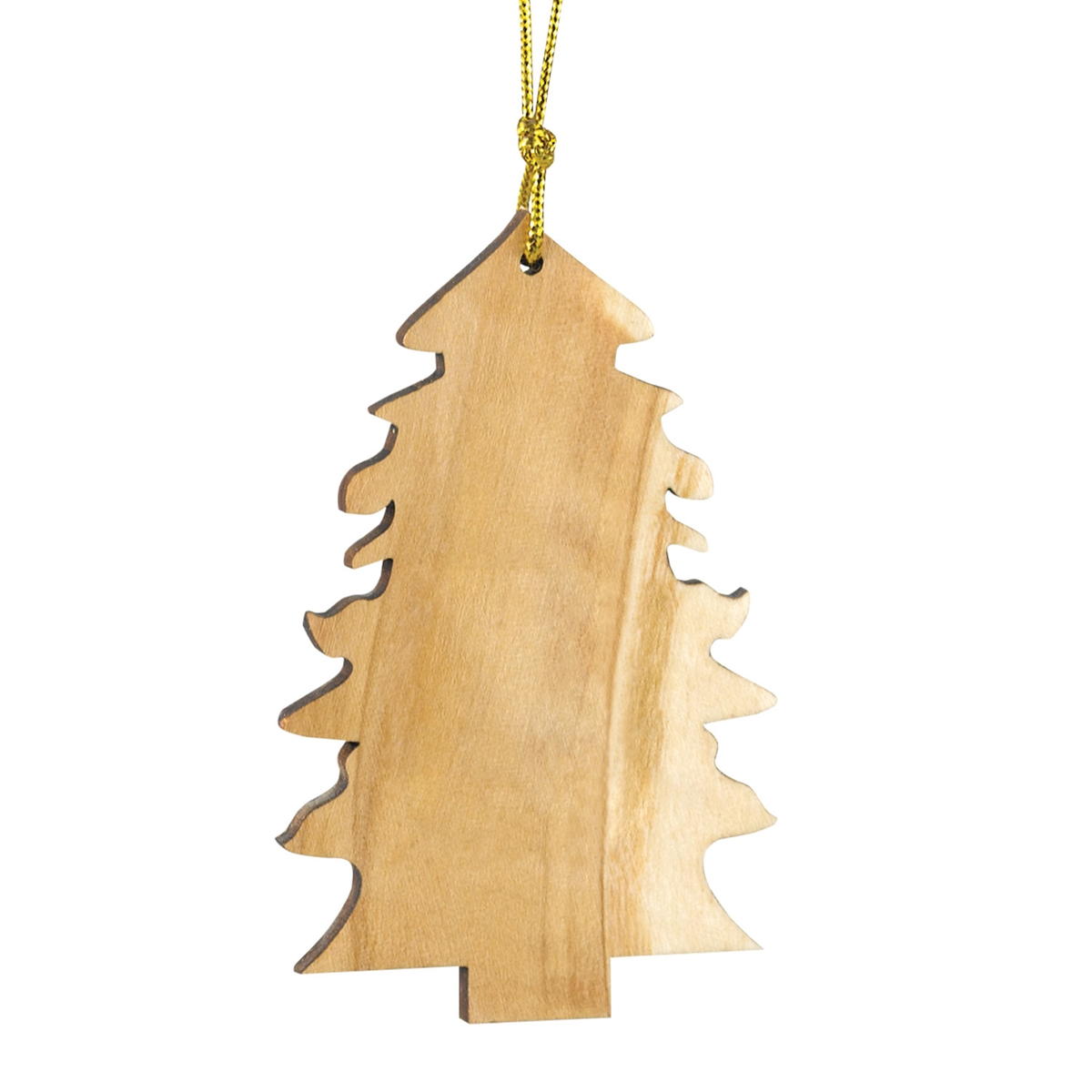 Olive Wood Tree Ornament
