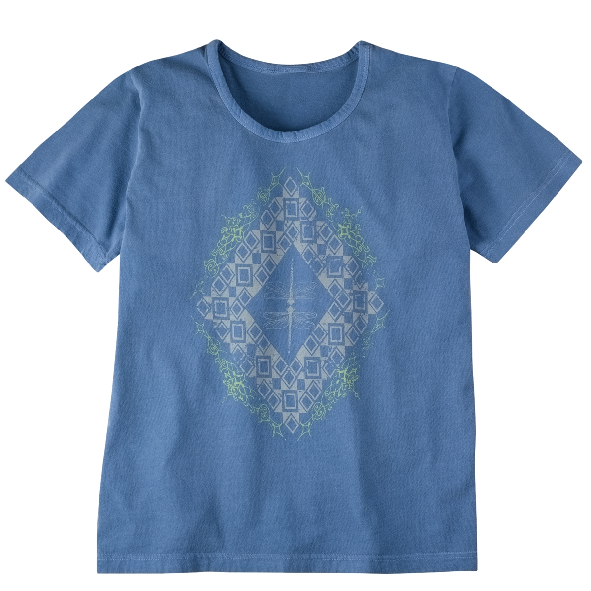 Dragonfly Diamond Organic Tee